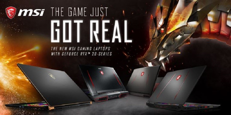 NEW MSI RTX LAPTOP